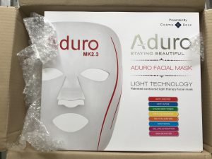 LED美顔器 梱包参考